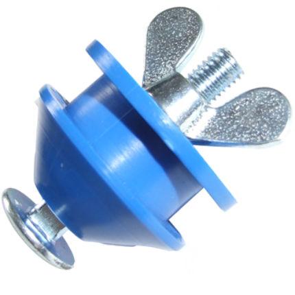 Blå plupp
