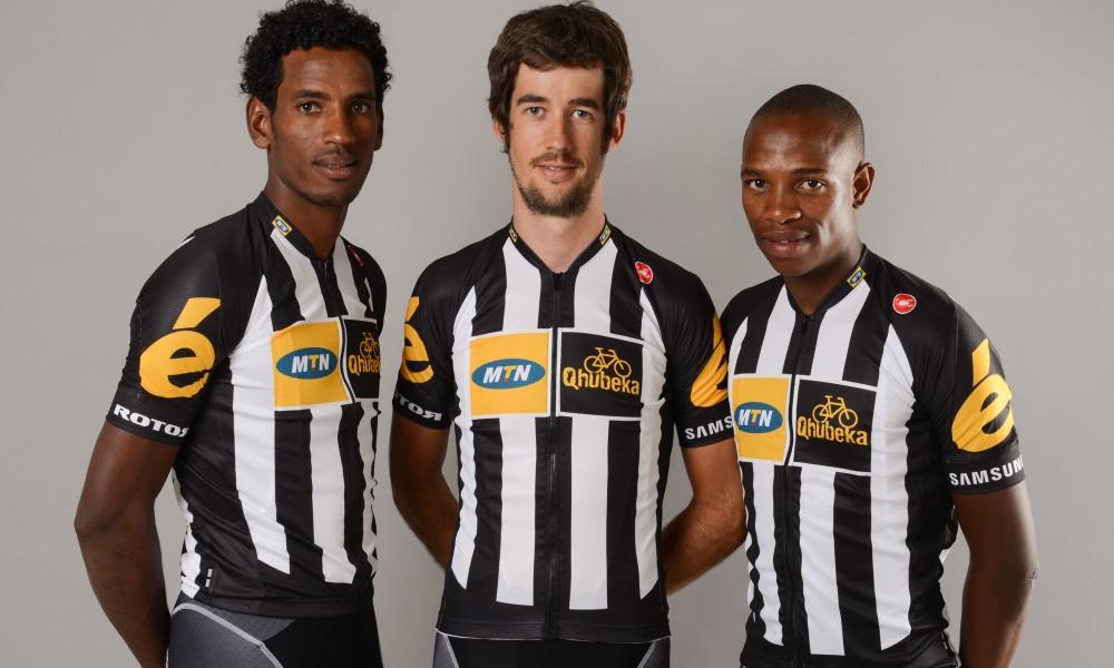 Hårdsatsande laget MTN Qhuebeka är det första afrikanska laget som får köra Tour de France!