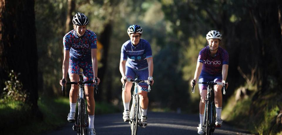 Fondo - snygga cykelkläder för tjejer