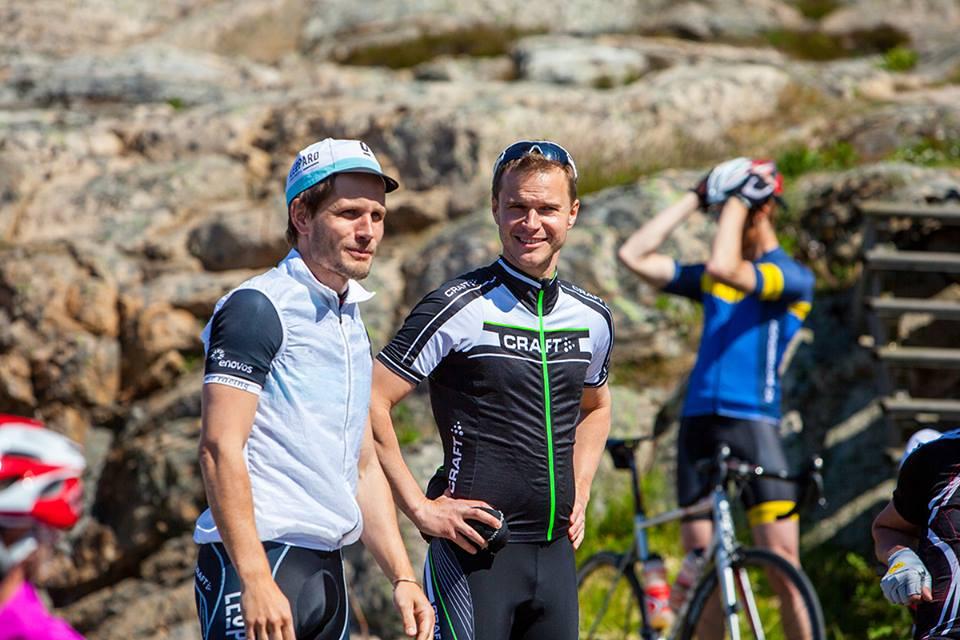 Erik Abrahamsson (t.v.) och Mattias Carlsson, männen bakom Abloc
