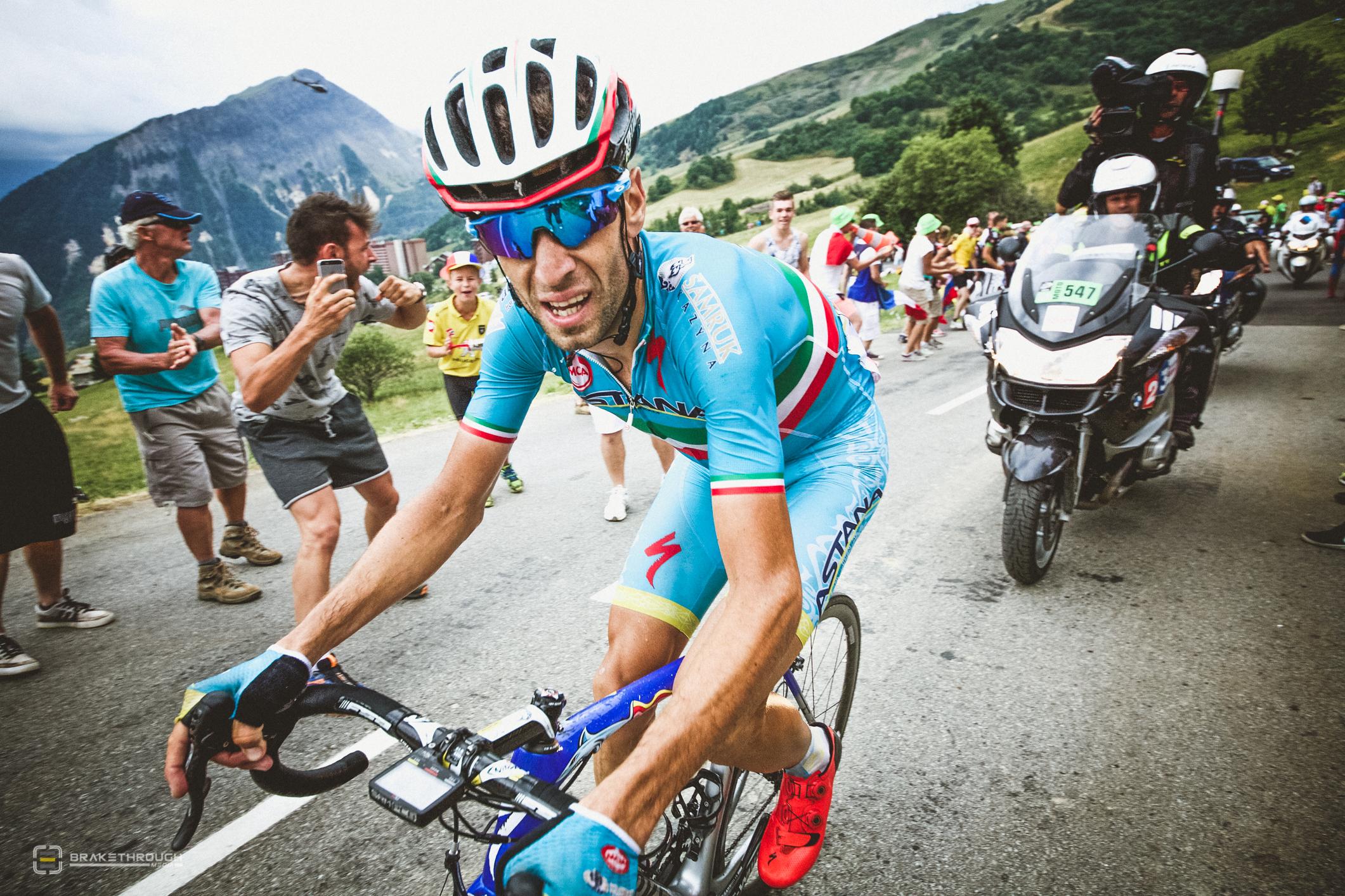 Vincenzo Nibali kommer få fightas med sina lagkompisar om kaptenstiteln! Foto: Team Astana/Breakthrough Media