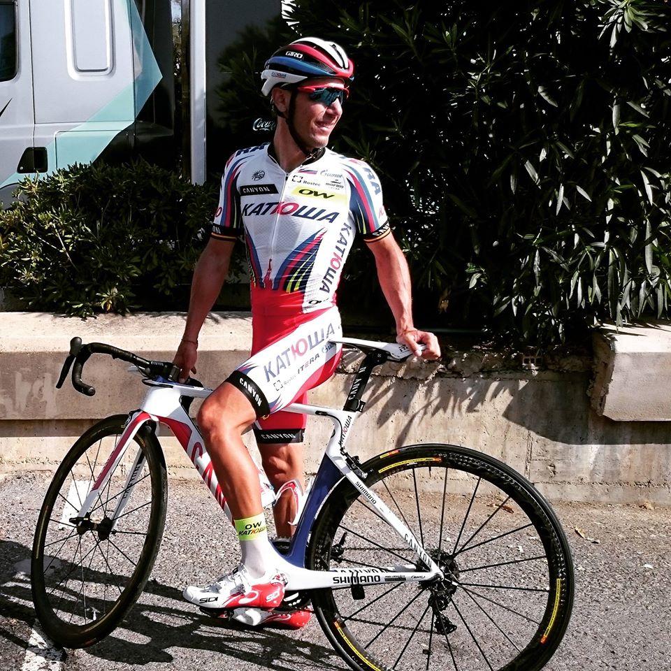"""""""Purito"""" Rodriguez ser ut att vara i fin form. Foto: Team Katusha"""