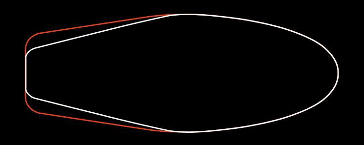 Jämförelse mellan Trident (vitt) och Trident 2.0
