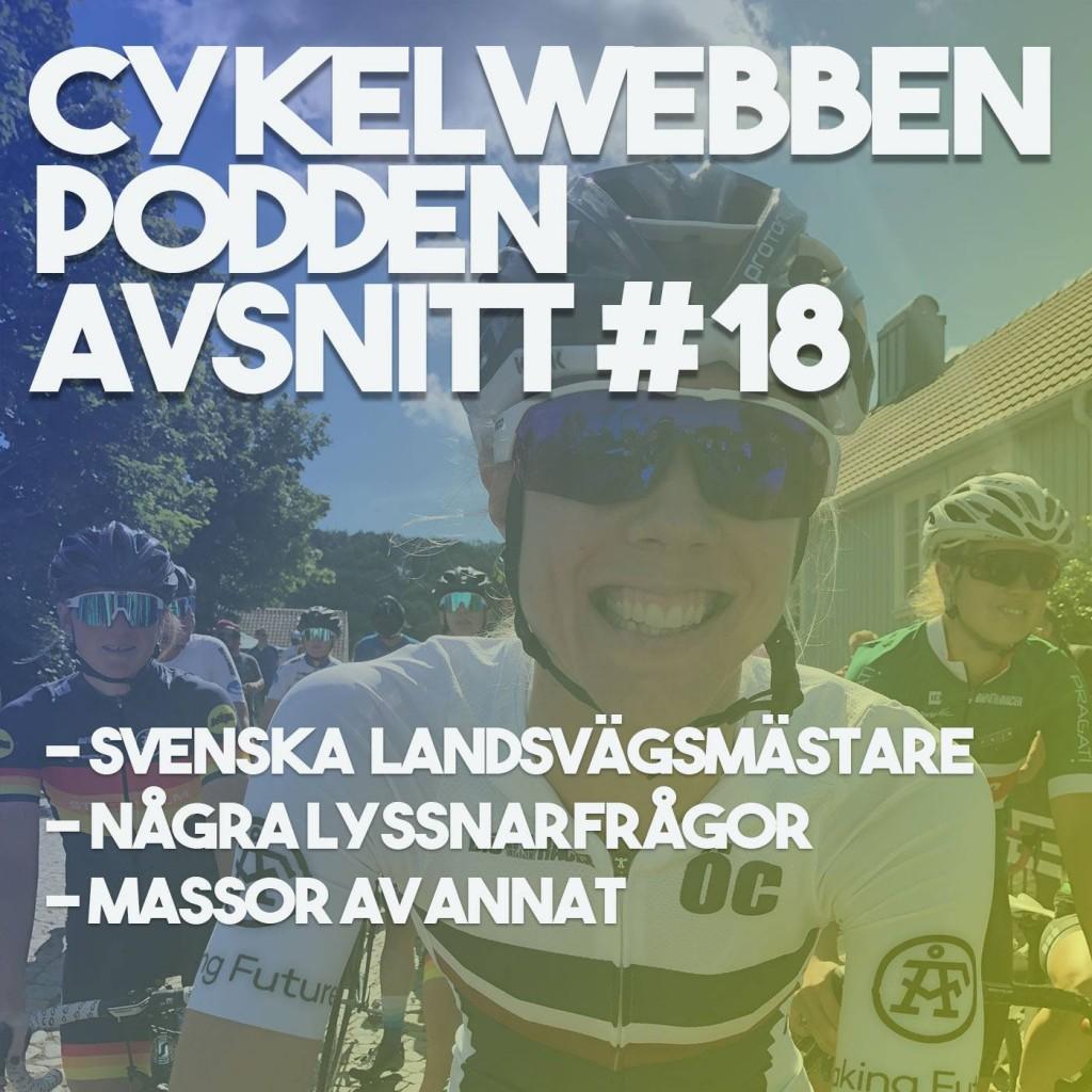 Cykelwebbenpodden avsnitt 18