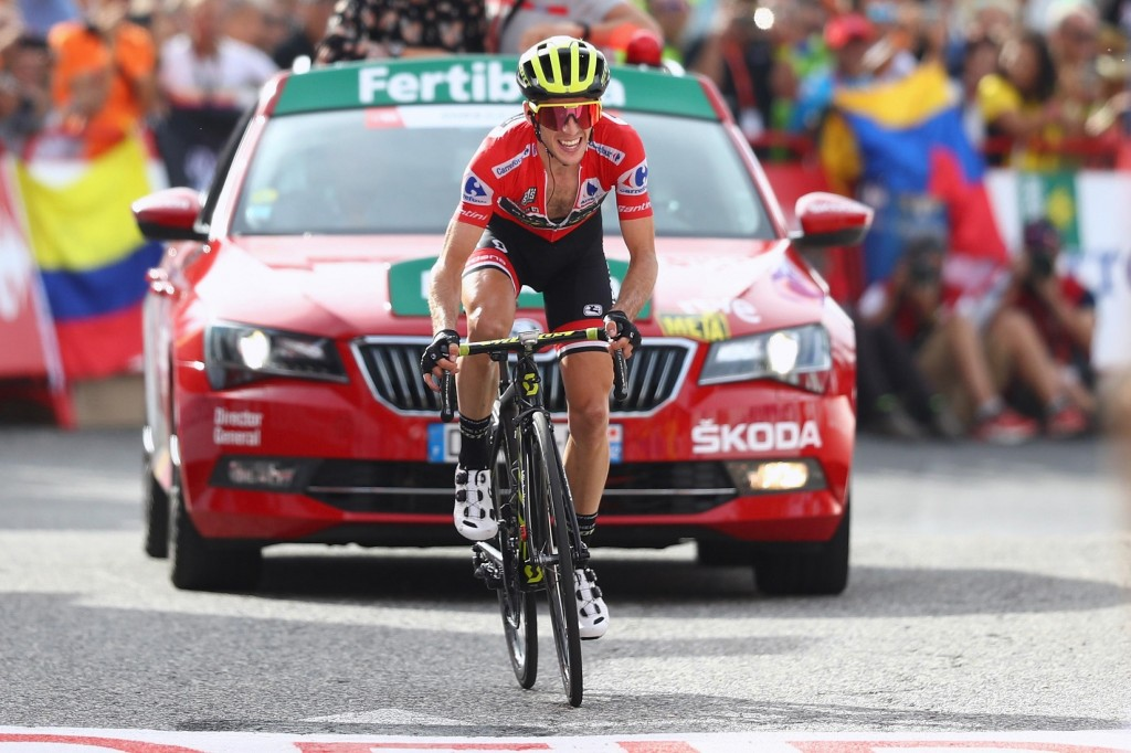 Simon Yates vann nyligen Vuelta España.