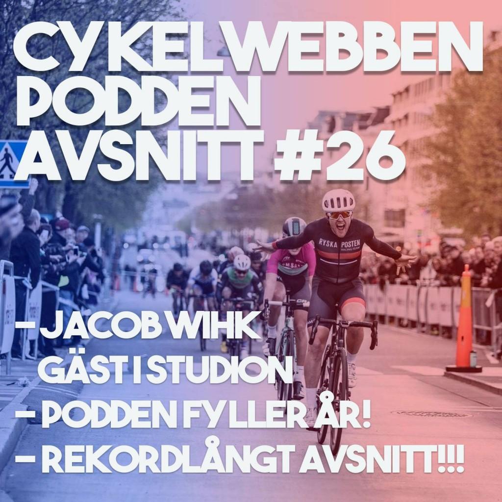 Cykelwebbenpodden avsnitt 26