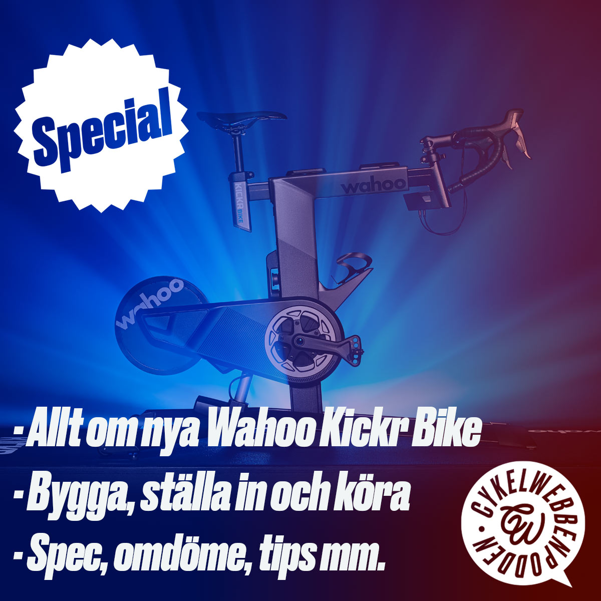 Allt om nya Wahoo Kickr Bike