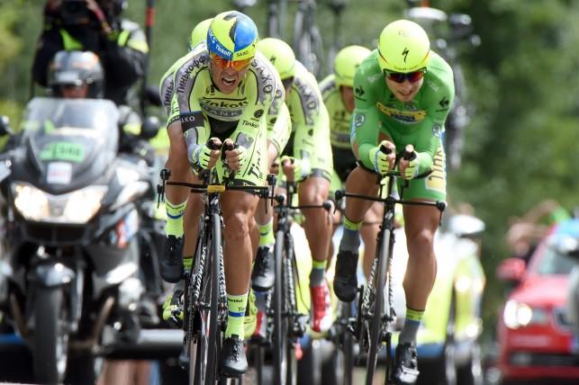 Tour de France 2015 - 102a Edizione - 9a tappa Vannes - Plumelec 28 km - 12/07/2015 - Tinkoff - Saxo - foto Graham Watson/BettiniPhoto©2015