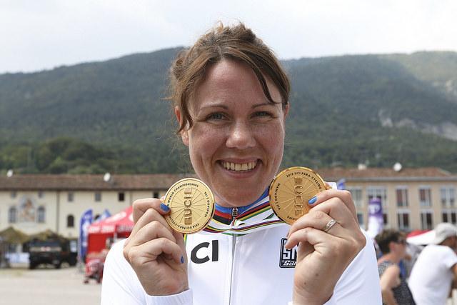 Dubbla guld för Anna Beck