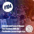 Avsnittsbild för Cykelwebbenpoddens 104:e avsnitt.